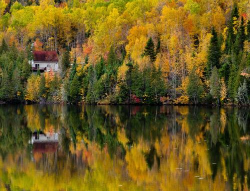 Sur les routes du Quebec en automne
